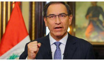 El presidente de Perú insta al Congreso a declarar en emergencia al MP