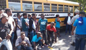 Detienen 70 indocumentados en zona fronteriza