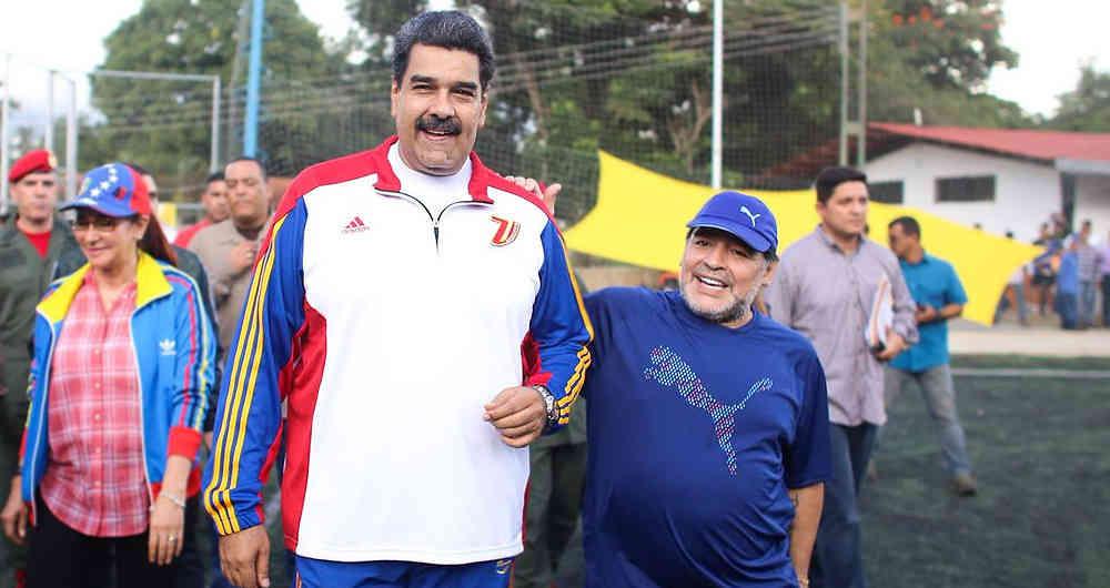 Maradona dice que respalda