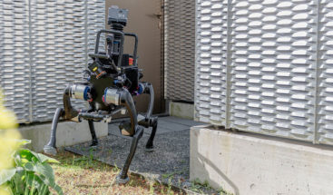 Inteligencia artificial hace que un robot pueda pararse si lo derriban