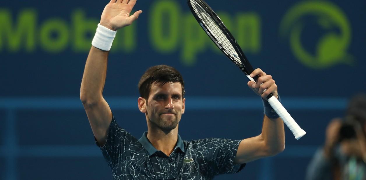 Djokovic-Bautista y Cecchinato-Berdych, semifinales en Doha