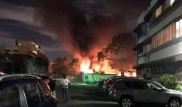 Incendio afecta instalaciones de hotel El Embajador la noche del miércoles