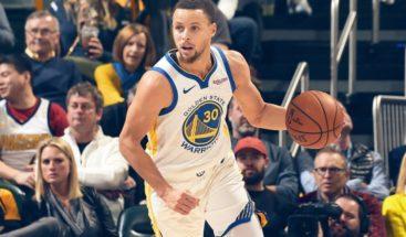 Otra exhibición de Curry logra el undécimo triunfo para Warriors