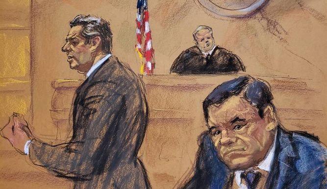 Juicio del Chapo podría acabar entre el 21 de enero y mediados de febrero