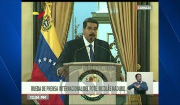 Maduro mantiene negativa al ingreso de ayudas humanitarias