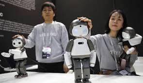 Los cinco robots más curiosos del Mobile