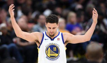 Thompson lidera una nueva exhibición de los Warriors