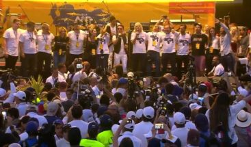 Sanz, Juanes y Chyno y Nacho cierran concierto en Cúcuta apelando a libertad