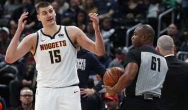 Jokic y los Nuggets ganan terreno en la Conferencia Oeste