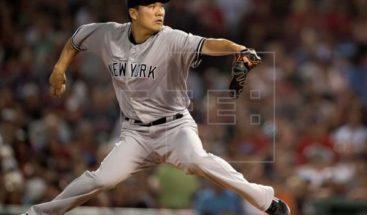 El lanzador japonés Tanaka desea batear en la Liga Nacional