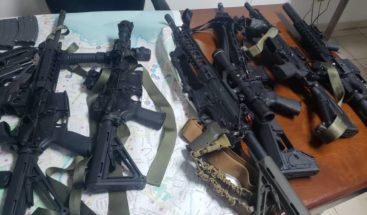 Apresan siete extranjeros y un haitiano con armas de alto calibre en Puerto Príncipe