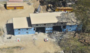 Avanzan los trabajos construcción de la base interagencial de Carrizal
