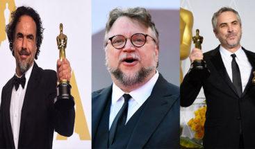 Cuarón, Del Toro e Iñárritu firman carta contra entrega de Óscar en anuncios