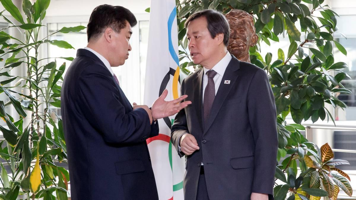 Coreas proponen equipos unificados en baloncesto, hockey, judo y remo