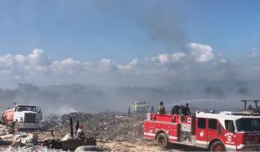 Desaprensivos incendiaron vertedero de Sosúa