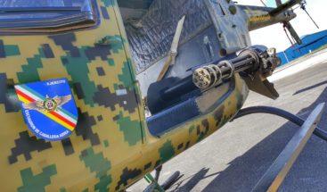 Helicóptero del ERD aterriza de emergencia tras falla mecánica en Dajabón