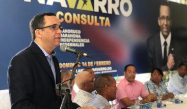 Navarro asegura RD necesita un proyecto sobre defensa territorial