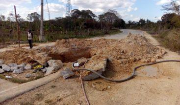 Suspenden servicio de agua en varias comunidades de Boca Chica por avería