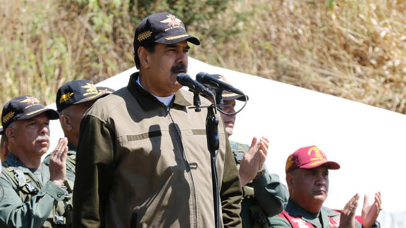 Maduro ordena despliegue de militares ante