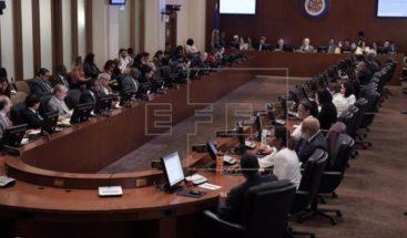 La Secretaría General de la OEA considera