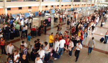 Mas de 1 millón de pasajeros se movilizaron por aeropuertos de RD en enero