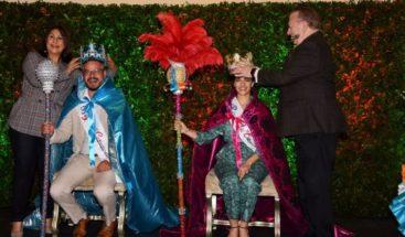 Frank Perozo y Nashla Bogaert, reyes del Desfile Nacional de Carnaval 2019