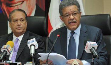 Presidente y secretario PLD dan explicaciones distintas sobre reunión CP