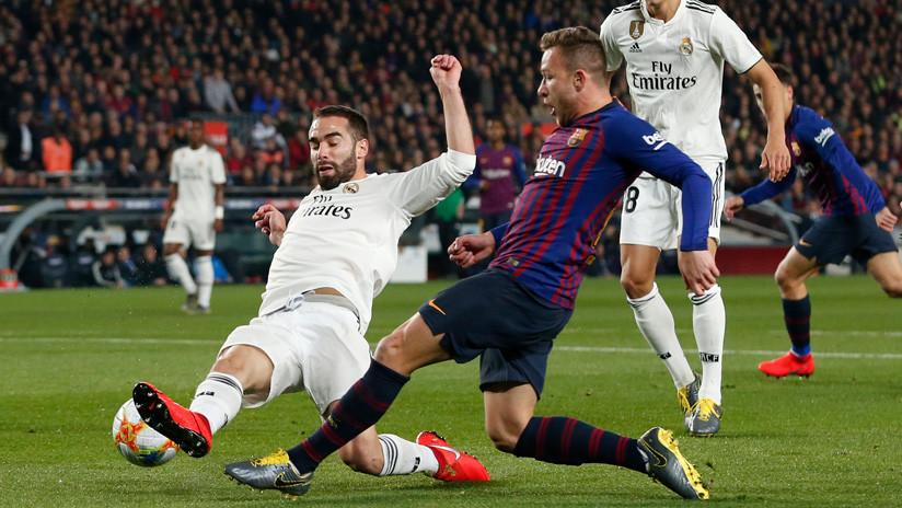 El Real Madrid y FC Barcelona empatan en 'Clásicos' Copa del Rey de España