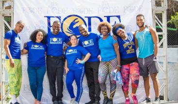 """FODE conmemora Un """"Día azul"""" contra el cáncer"""