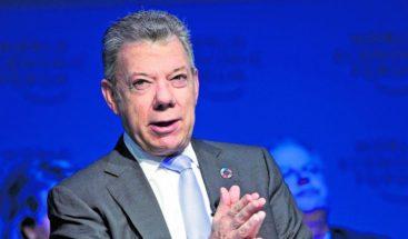 Santos dice que éxito contra drogas está en sustitución de cultivos ilícitos