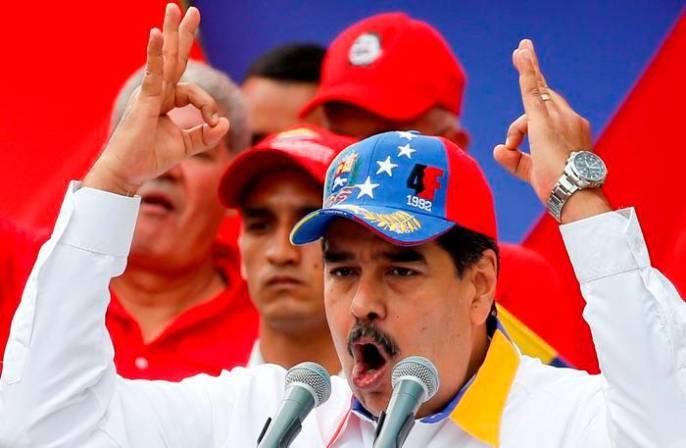 Maduro culpa de apagón a