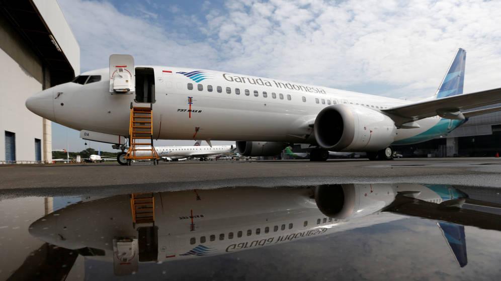 La aerolínea Garuda Indonesia cancela pedido de 49 Boeing 737 Max 8