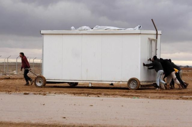 Tres muertos por lluvias torrenciales e inundaciones en el noreste de Siria
