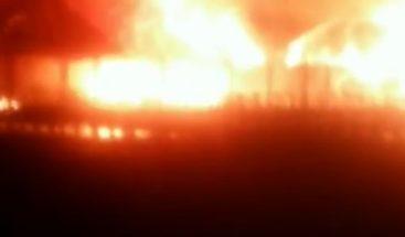 Incendio afectó restaurante Hemingway en Juan Dolio