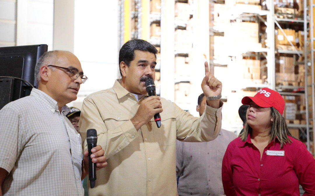 Maduro dice no le temblará el pulso contra