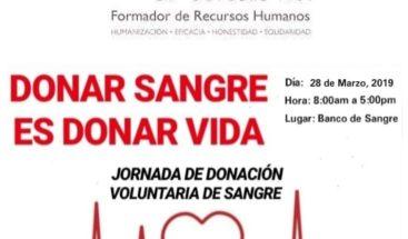 Hospital Salvador B. Gautier realizará una jornada de donación voluntaria de sangre