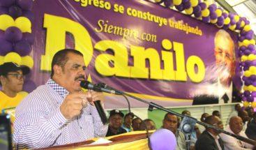 Danilistas en Elías Piña esperan que Medina indique si desea continuar dirigiendo el país