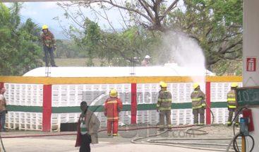 Escape de gas en estación alarma a residentes en sectores El 27 y Los Corozos, Pedro Brand