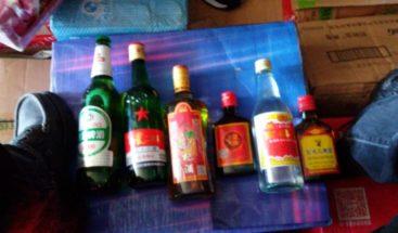 Incautan contrabando de medicamentos, cerveza y ron en muelle de Haina Oriental