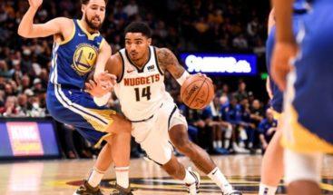 Warriors y Nuggets mantienen lucha por mejor marca en el Oeste