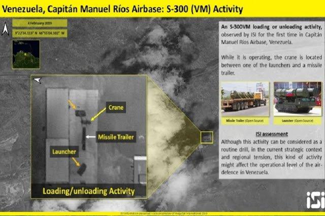 Fuerzas Armada Venezolana despliega una batería de misiles rusos S-300 en Caracas
