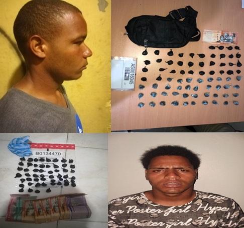 Apresan dos hombre por cargar con porciones de drogas en San José de Ocoa