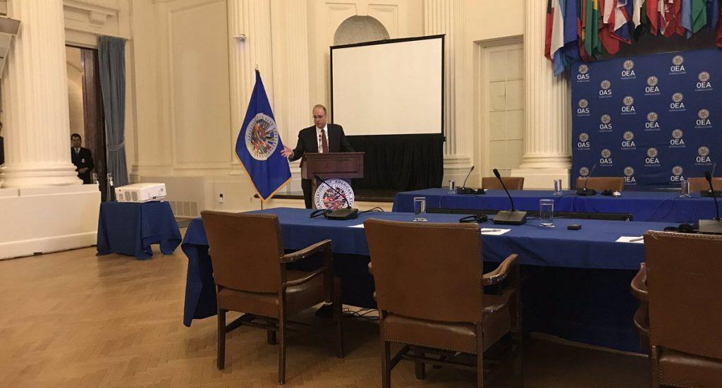 EE.UU. defiende en la OEA nuevas sanciones a fuerzas de seguridad de Venezuela