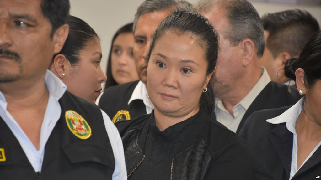 Nombran juez que se encargará de investigación contra Keiko Fujimori en Perú