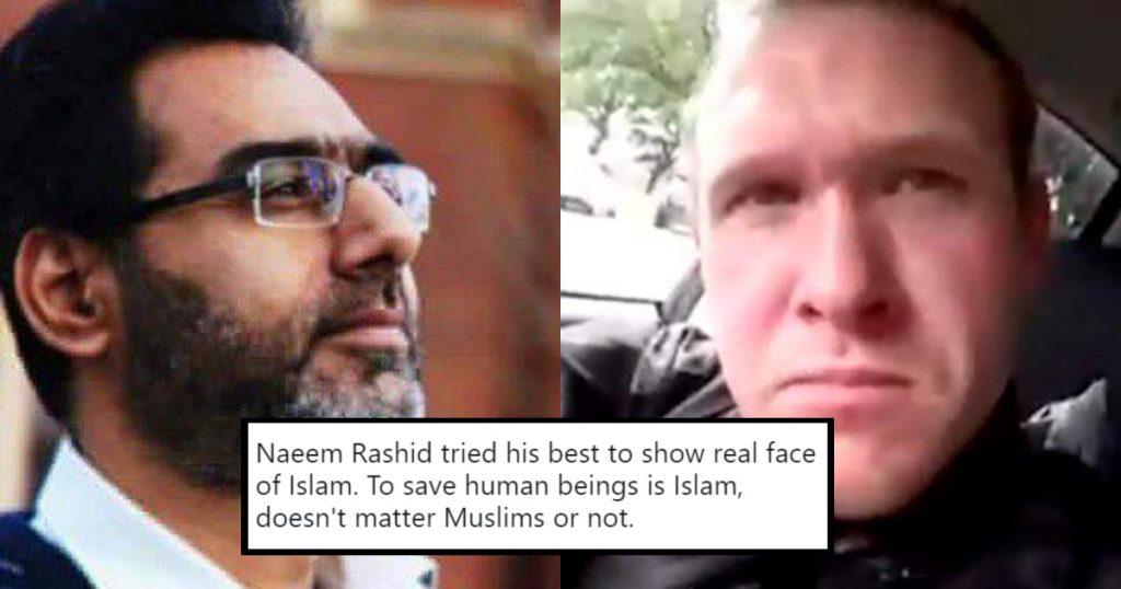 #NaeemRashid, el héroe paquistaní que acometió al terrorista de Christchurch