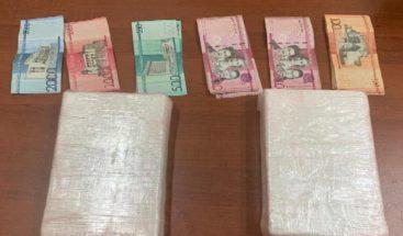 Apresan cuatro personas que intentaban realizar unatransacción de drogas en Santiago