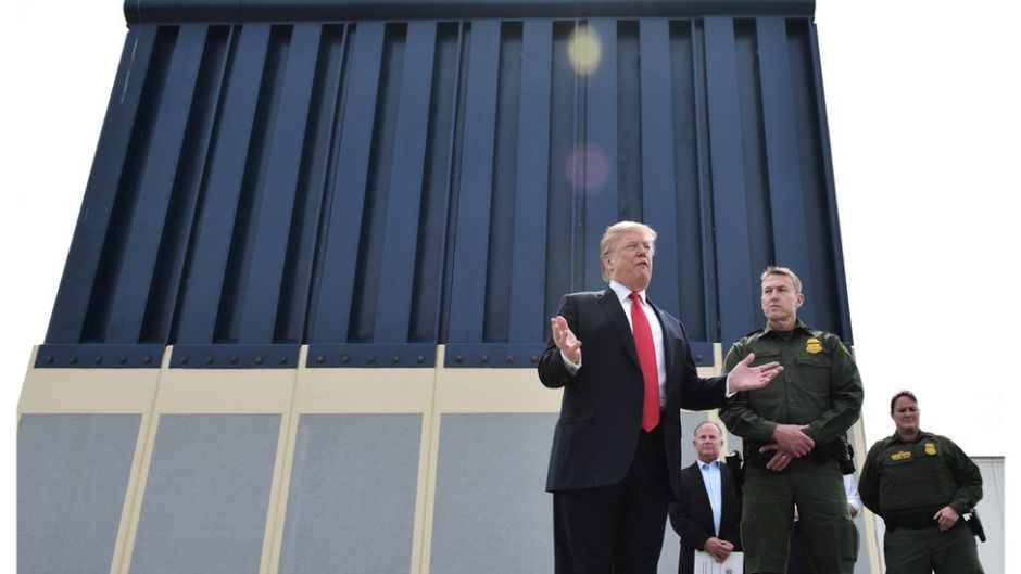 El Pentágono autoriza 1.000 millones para el muro bajo la emergencia nacional