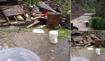 Ventarrón afecta varias comunidades de Nagua