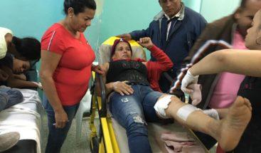 Mujer resulta herida supuestamente por su expareja en Ocoa