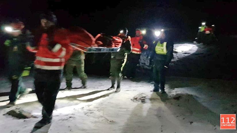 Rescatan a 25 excursionistas perdidos en el norte de España